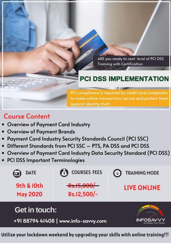 pci dss implementer certification