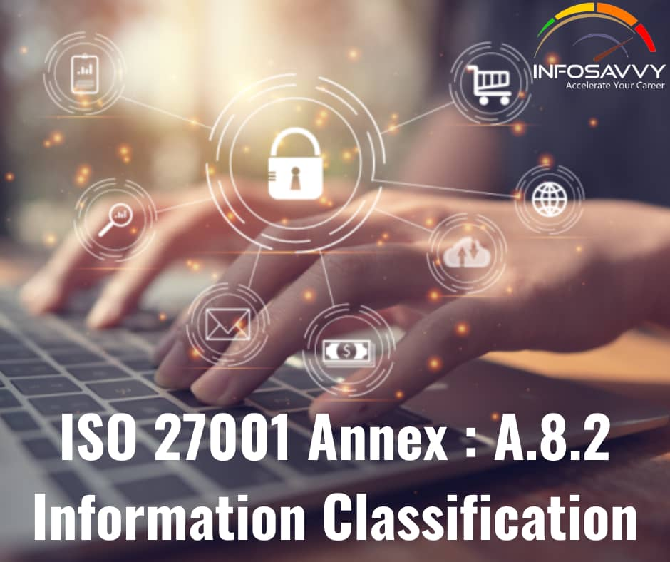 Annex A.8.2.2 Labeling of Information