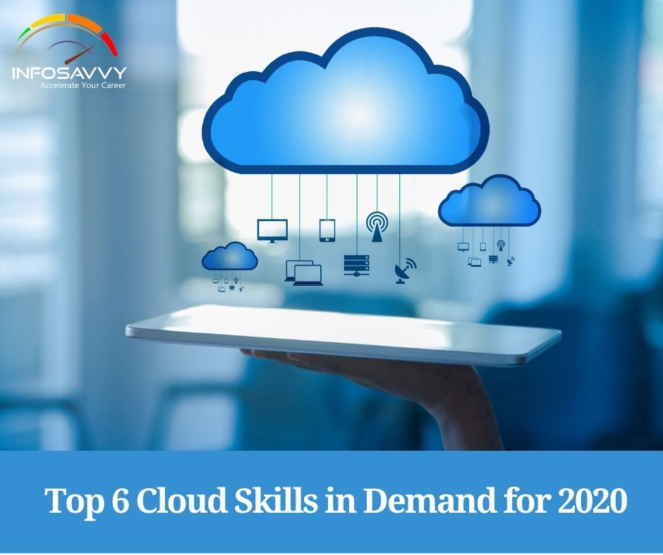 Top 6 Cloud skills in Demand for 2020